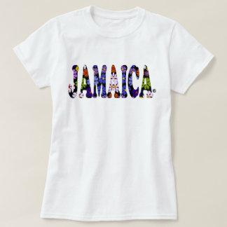 Jamaica Multi Colors Blossom Jamaica Floral tshirt