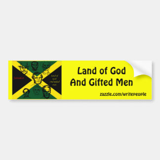 jamaica national hero bumper sticker