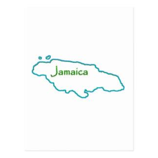 Jamaica Neon Postcard