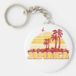 Jamaica Paradise Basic Round Button Keychain