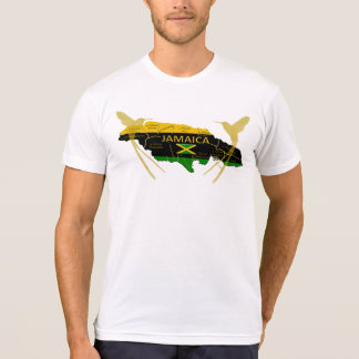 Jamaica Parishes Colors Gold Humming T-Shirt