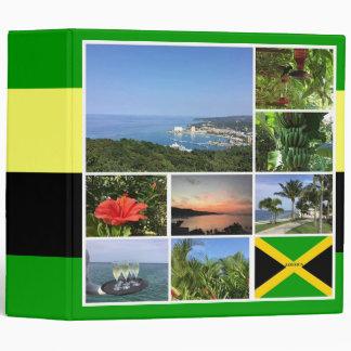 Jamaica Photo Collage 3 Ring Binder