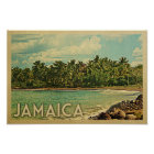 Jamaica Poster - Vintage Travel Poster