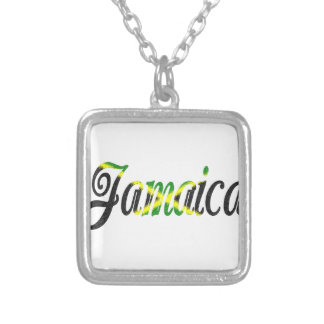 Jamaica Silver Plated Necklace