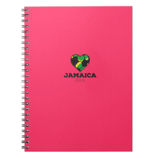 Jamaica Soccer Shirt 2016 Note Book