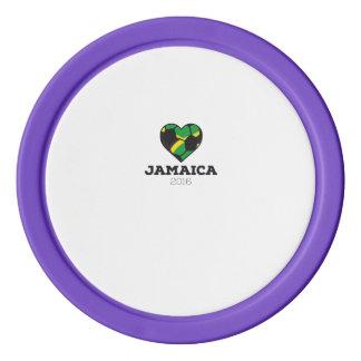 Jamaica Soccer Shirt 2016 Set Of Poker Chips