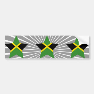 Jamaica Star Bumper Sticker
