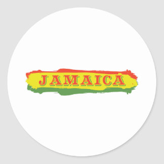 Jamaica Stripes Stickers