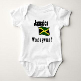 Jamaica t-shirts-what a gwaan baby bodysuit