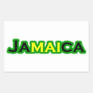 Jamaica (text) sticker