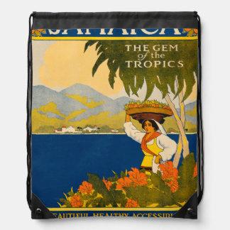 Jamaica, the gem of the tropics backpack