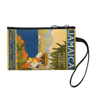 Jamaica, the gem of the tropics change purse