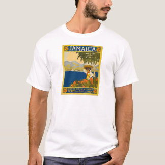 Jamaica The Gem Of The Tropics Vintage Travel T-Shirt