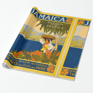 Jamaica, the gem of the tropics wrapping paper