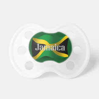 Jamaica Waving Flag Pacifier