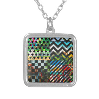 JAMAICA WITH LOVE SILVER PLATED NECKLACE