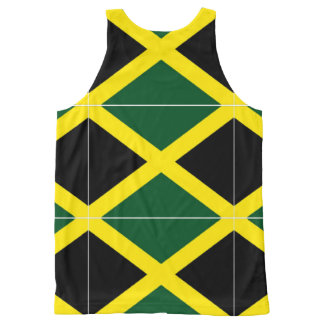 jamaican All-Over-Print tank top