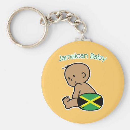 Jamaican Baby Key Chain