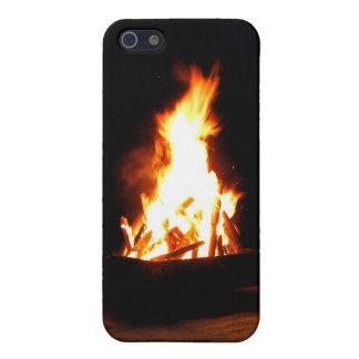 Jamaican Beach Bonfire iPhone 5 Covers