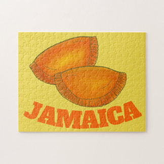 Jamaican Beef Patty Patties Food Cooking JAMAICA Jigsaw Puzzle