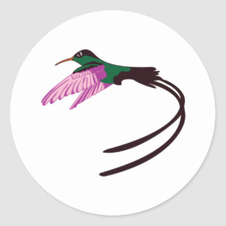 Jamaican Bird Round Sticker