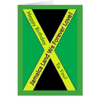 Jamaican Birthday Card
