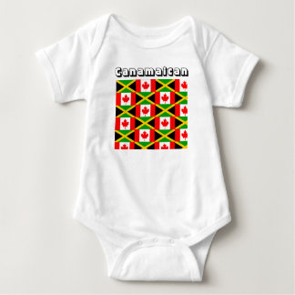 jamaican-Canadian baby t-shirts
