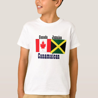 jamaican canadian t-shirts-power of two roots T-Shirt