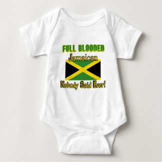 Jamaican citizen design baby bodysuit