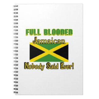 Jamaican citizen design spiral notebook