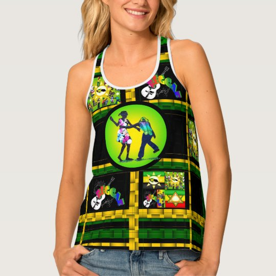 Jamaican Culture Tank Top