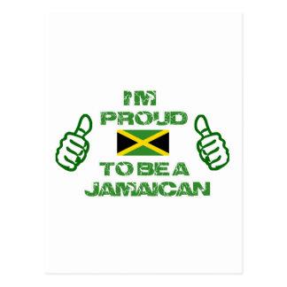 JAMAICAN DESIGN POSTCARD