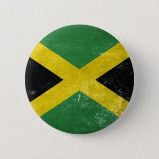 Jamaican Flag 2 Inch Round Button