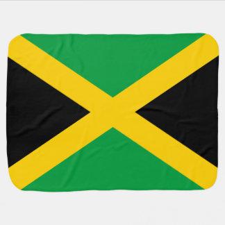 Jamaican Flag Baby Blankets