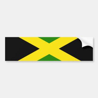 Jamaican Flag Bumper Sticker