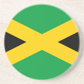 Jamaican Flag Coaster