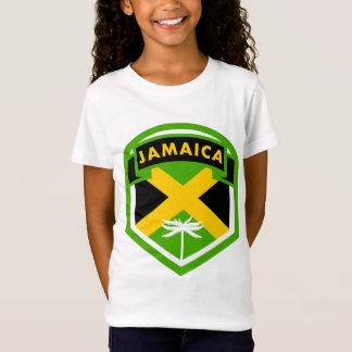 Jamaican Flag Crest Style T-Shirt