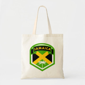 Jamaican Flag Crest Style Tote Bag