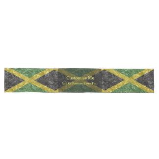 Jamaican Flag - Crinkled Long Table Runner