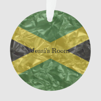 Jamaican Flag - Crinkled Ornament