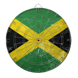 Jamaican Flag Dartboard