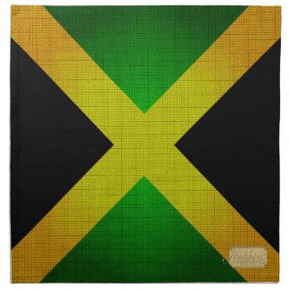 Jamaican Flag Designer Cloth Napkin