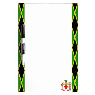 Jamaican flag dry erase board