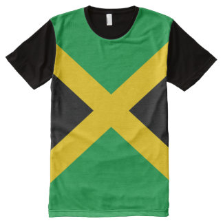 Jamaican Flag full All-Over-Print T-Shirt