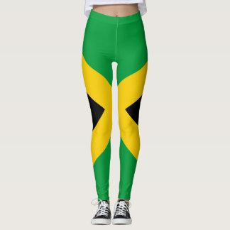 Jamaican Flag full II Leggings