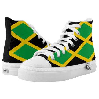 Jamaican flag high tops