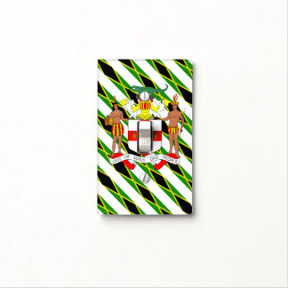Jamaican flag light switch cover
