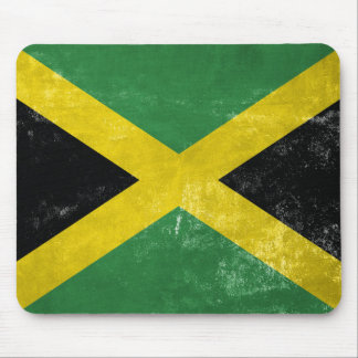 Jamaican Flag Mouse Pad