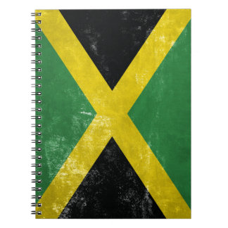 Jamaican Flag Note Book
