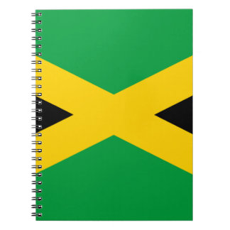 Jamaican Flag Notebook